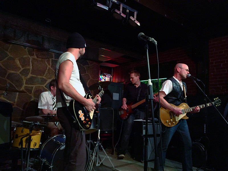 Wicked Tenants - Live at the Imperial Pub - Toronto - March 2015